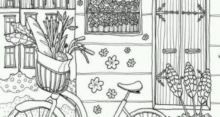 Plants - Printable Adult Coloring Page from Favoreads Coloring book pages for adults and kids Colori