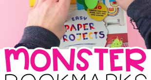 Marque-pages DIY Monster