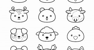 Coloriage Kawaii Animaux Awesome Kawaii Animals P & a Adult Coloring Pages  – Best Anime Manga Kawaii Coloring - Pour Vous