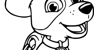 Tracker Paw Patrol Coloring Pages