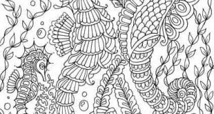 12 Hand-Drawn Coloring Pages – FREE - Favoreads Coloring Club