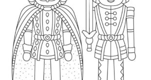 Nutcracker Christmas Coloring Pages for Kids