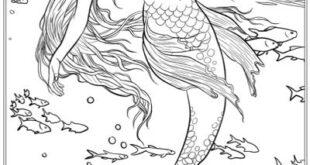 Best Mermaid Coloring Pages & Coloring Books